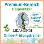 Likamundi online-Prüfungstrainer Extra-Prüfungspaket Heilpraktiker